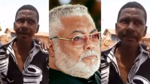 Video: 50 Year Old Man, Akwasi Aboagye Says He's Rawlings' First Son- Details How Nana Konadu Sent Soldiers To Kill Him