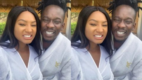 Mr Eazi and rich girlfriend, Temi Otedola, reveals the kind of wedding they'll have (+Video)