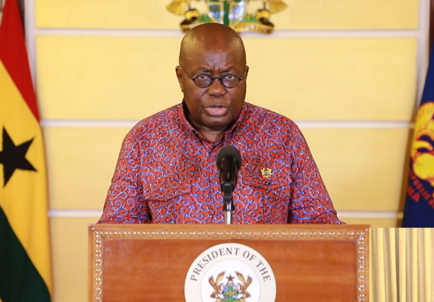 """""""Weddings, parties and funerals are banned"""" –President Akufo-Addo"""