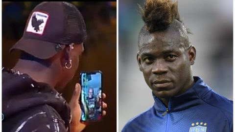 See The Cute Moment Mario Balotelli Makes His Parents Speak Twi On Italian TV- Video