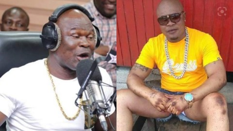 (+VIDEO) I Wanted To Be Popular Again And Get Ghanaians To Love Me – Bukom Banku Explains His Reason For Wearing Lashes