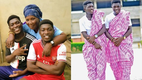 Meet Fredrick Mensah And Patrick Mensah, The Twins Taking Over The Internet With Their Dance Skills Featuring Their 60 Year Old Mother