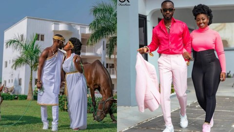 Okyeame Kwame And Wife Celebrate 16 Years Of Marital Bliss With These Photos
