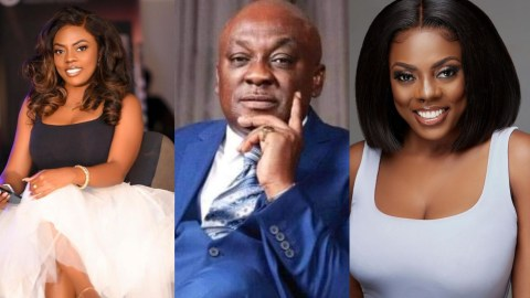 Nana Aba Anamoah Deletes Post Blasting Carlos Ahenkorah And Here Is A Possible Reason For Her Change Of Mind