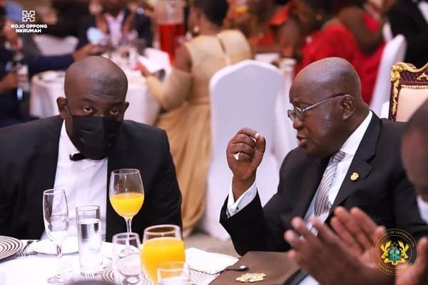 """""""Thanks for reappointing me"""" – Kojo Oppong Nkrumah to President Akufo-Addo"""