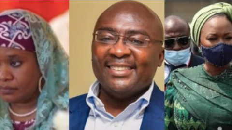 Photo: Meet Bawumia's 1st wife whom he's allegedly hiding from the public