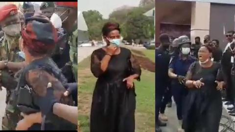 Woman claiming to be Rawlings' daughter prevented from viewing mortal remains of the former President [Video]