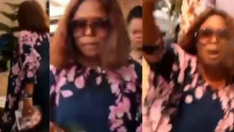 Drama As Woman Storms Husband's Secret Wedding To Another Woman To Disrupt It- Video