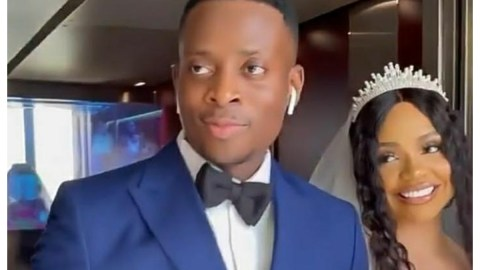 BBNaija Star, Nengi Says 'YES' To Sydney Talker- See Wedding Photos