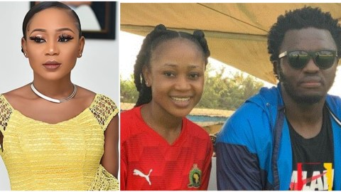See The Reply Akuapem Poloo Gave To A Fan Who Asked If Sulley Muntari is Ch0pping Her After They Hanged Out Recently