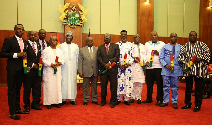 President Akufo-Addo reduces ministries from 36 to 29, ministers from 110 to 85