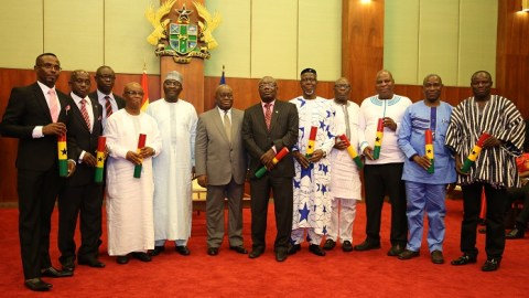 President Akufo-Addo reduces ministries from 36 to 29, ministers from 126 to 85