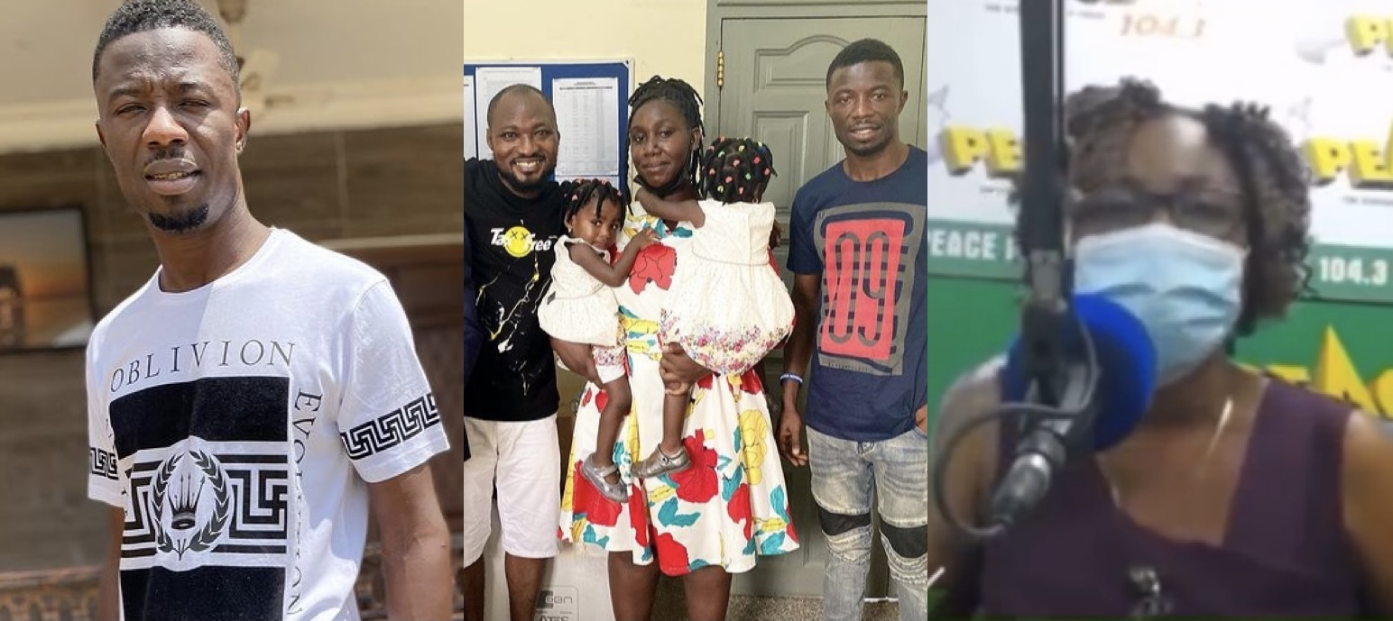 Funny Face's Family And Kwaku Manu Clash On Air, Asks Him To Pull Down Videos Of Funny Face