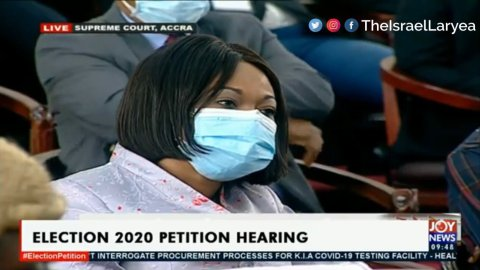 """Election Petition: """"Jean Mensa can't be forced to testify"""" – Supreme Court rules"""
