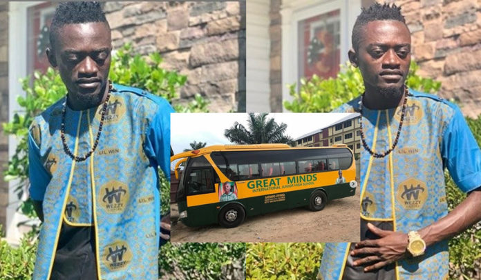 Lilwin Gives Full Scholarship To Sibling Of The 5-yr-Old Girl His School Bus Killed