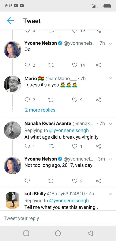 """""""I Broke my Virginity 4 years Ago on Valentines day""""- Yvonne Nelson 2"""