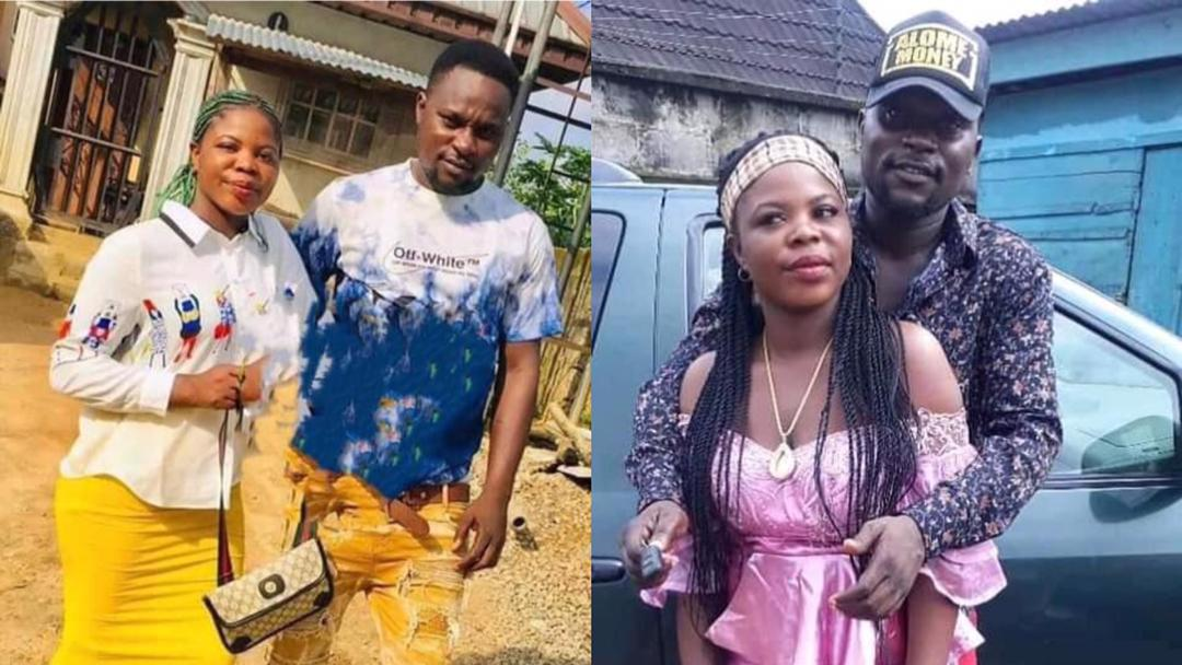 Update: Neighbours claim the lady committed suicide after poisoning her lover to death for impregnating another woman [Details]