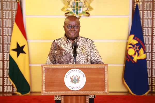 President Akufo-Addo to address Ghanaians tonight; expected to speak on LGBTQ+ and related issues