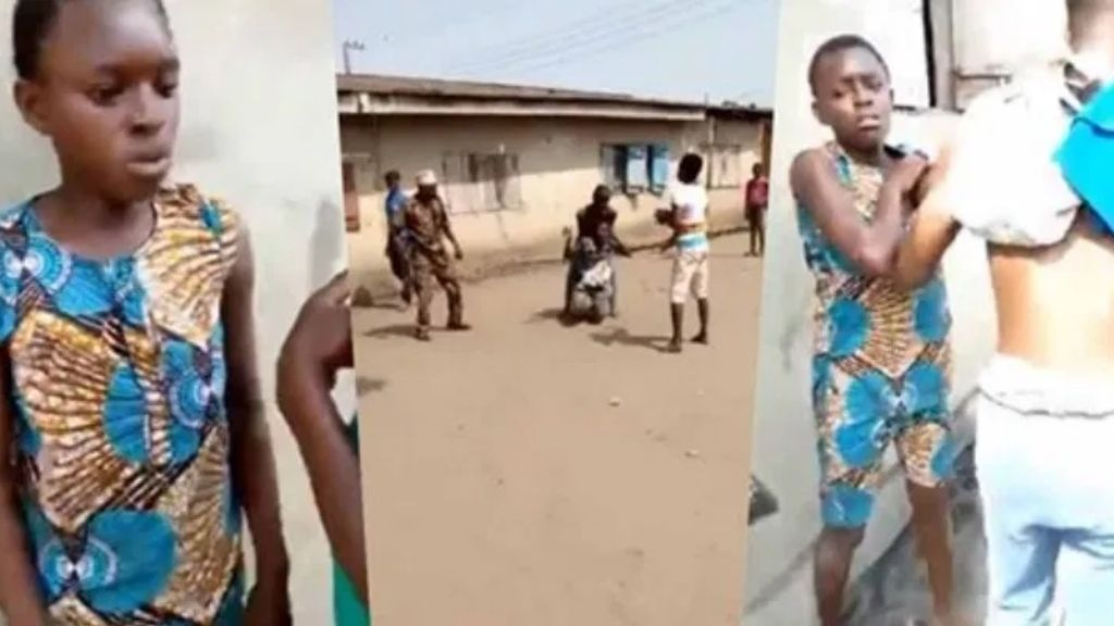 16-year-olf teenager who has four children already caught cheating with another man, family publicly harass her [Video]