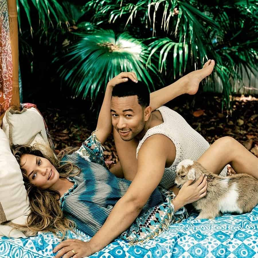 Chrissy Teigen reveals the strangest places she and husband, John Legend have had s3x [video]