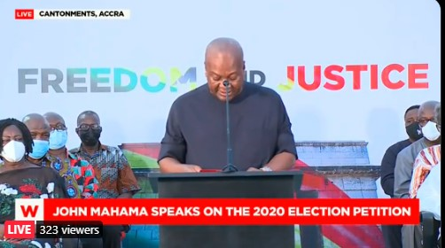 """"""" I disagree with the ruling of the Supreme Court"""" – Mahama"""