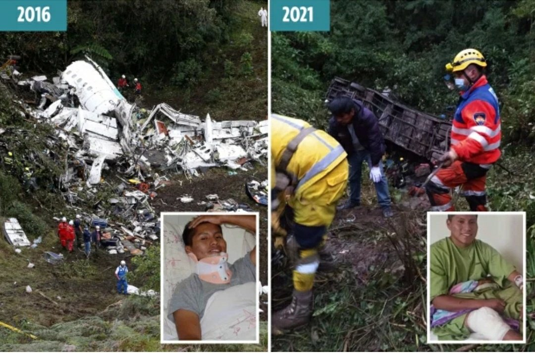 Erwin Tumiri: Chapecoense plane crash survivor avoids death again in bus crash which killed 22 people; shares horror story