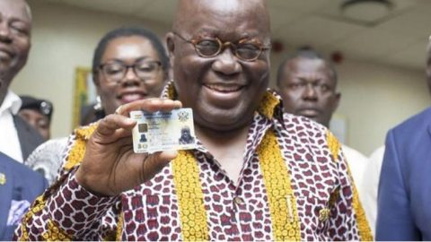 Ghana Card numbers to replace TIN starting April 1 – President Akufo-Addo announces
