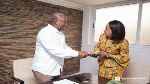 Election Petition: It is embarrassing that Jean Mensa did not testify and account to Ghanaians – Mahama