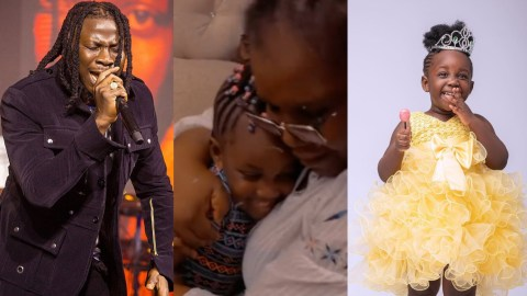 VIDEO: Jidula To Follow Her Father's Footsteps As She Shows Off Her Beautiful Voice By Singing For Her Grandma