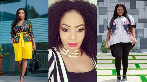 """Let's Do A Contribution To Help """"Old Lady"""" Rent Your House, She Can't Pay For Her Spintex Mansion – Diamond Appiah Joins Tracey Boakye To Mock Mzbel"""