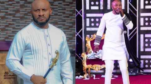 VIDEO: Yul Edochie Reacts To Prophecy From Pastor Prince That He Will Be Killed By Nigerians Before The Election