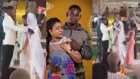 VIDEO: The Wedding Of Richard Agu And His Wife Finally Comes Off With No Ex-Girlfriend Drama – WATCH