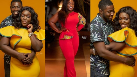 """""""The World Is A Better With You In It """"- Tima Kumkum Says As She Gives Love A Second Chance With Her New Man (+PHOTOS)"""
