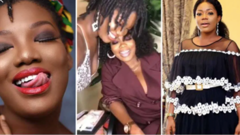 Songstress Iona Drops Bombshell As She Subtly Confirms Doing Lesbobo With Mzbel (+ Video