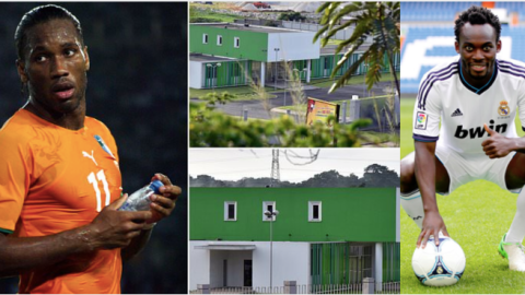 """Photo: """"Your mate Drogba has built hospital in Ivory Coast what about you? – Ghanaians still bashing Essien"""