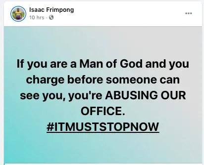 Rev Isaac Frimpong