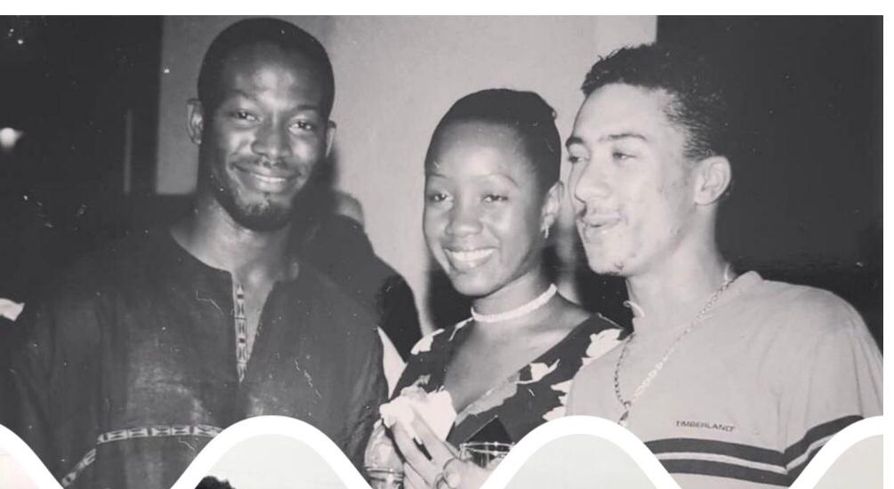 """""""Thank you for the support"""" – Actor Adjetey Anang shares throwback photo to thank Majid Michel for holding him down"""