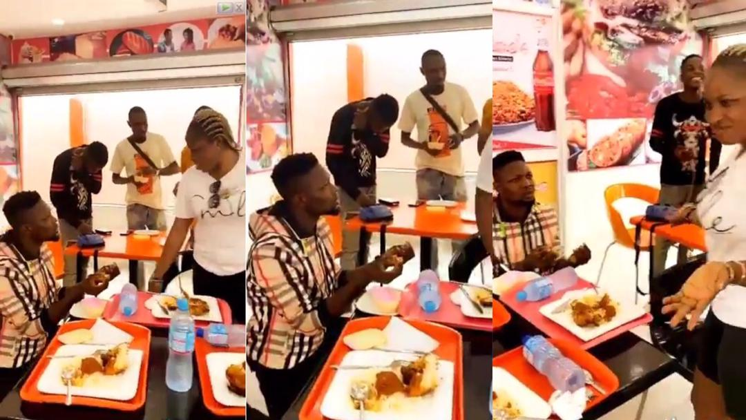 """Yawa: """"I'm pregnant for my main boyfriend"""" – Lady confesses to """"side boyfriend"""" who proposed love to her in public [Video]"""