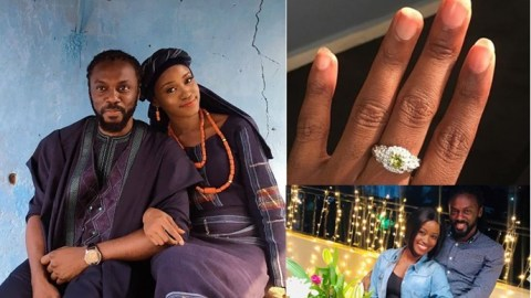 Nigerian Lady Gets Married To Her Former Geography Teacher, Reveals How He Used To Cane Her Back In SHS