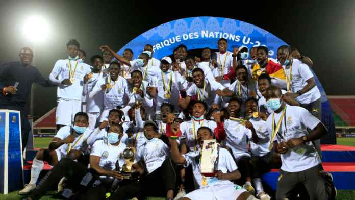 President Akufo-Addo gives Black Satellites players $10,000 each for winning U-20 AFCON