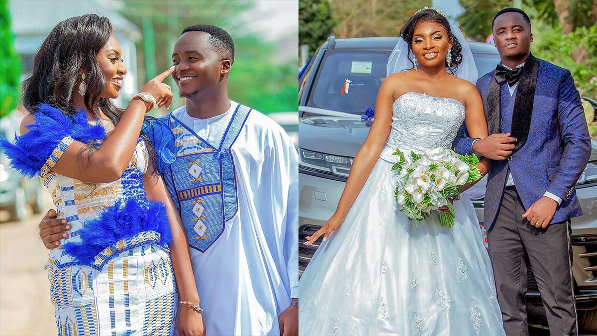 YOLO star marries beautiful girlfriend in a colorful wedding ceremony (+Video)