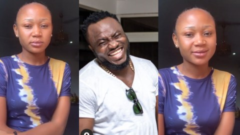 DKB Who Helped Akuapem Poloo Out Of Jail Takes Her Back As He Reports Her To The Police For Defamation (Full Details)