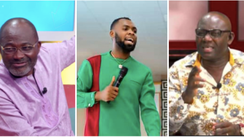 """Video: """"I swear my father's grave nobody can f. vck up with me"""" – Rev Obofour hits back at Ken Agyapong and Justice Kweku Annan"""