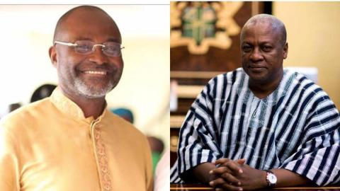 The way Mahama reduced Akufo-Addo's votes is a worry to the NPP – Kennedy Agyapong