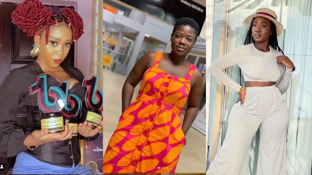 Ghana Entertainment Awards 2021: Tik Tokers Hajia Bintu, Jackeline Mensah, Asantewaa win big [Full List Of Winners]