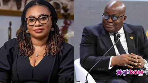 Charlotte Osei meets Akufo Addo for the first time in 3 years after sacking her (+Photos)