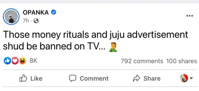 """Ban mallams and Juju men from TV""- Opanka reacts to Kasoa teen m*rder. 3"
