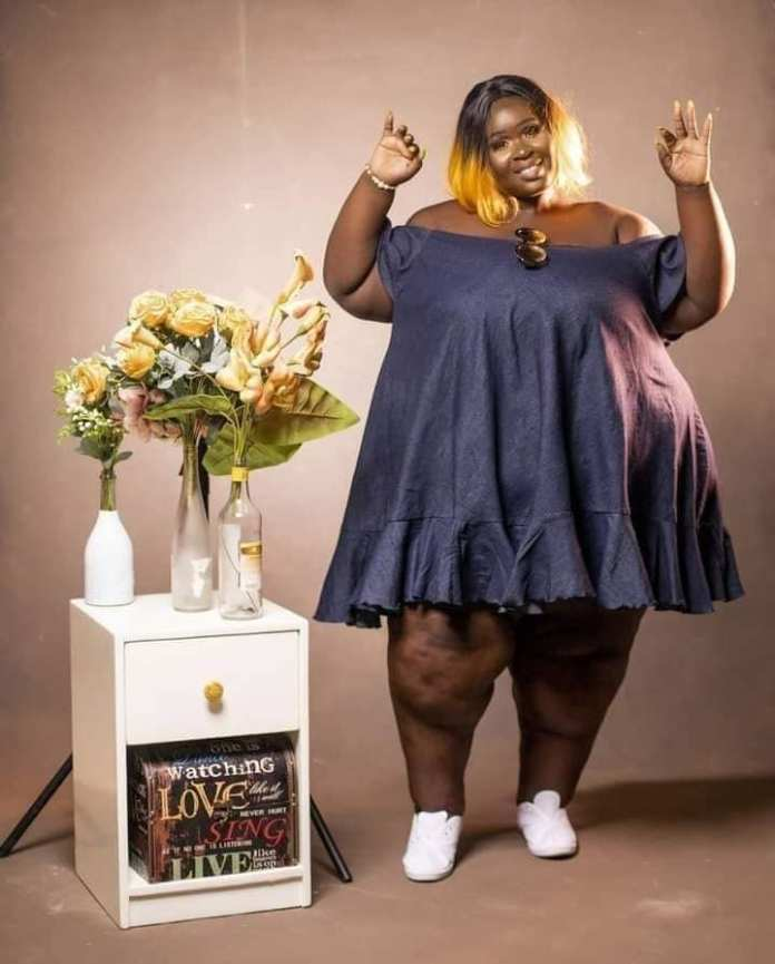 Video: Nigerians advise PM of Di Asa fame to reduce her size 1