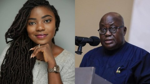 Video: Be Bold And Stop Your Ministers From Ruining Our Water With Galamsey, This Is Not The Time For Big English But Action! – Afia Pokua Tells Nana Addo