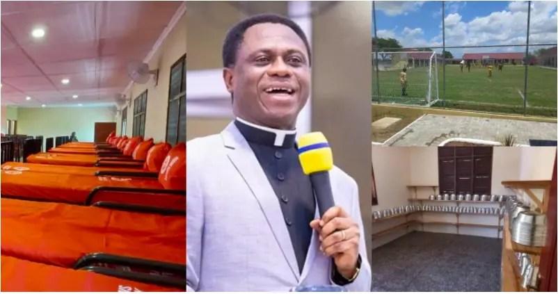 Church of Pentecost build prison